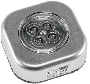 """LED Klebeleuchte mit 4 LEDs """"CTK4"""""""