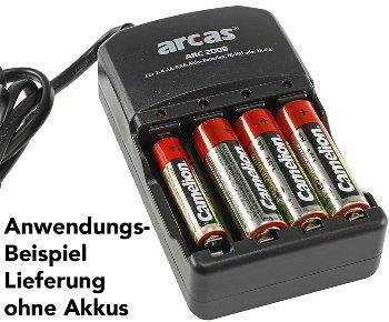 """Akku-Ladegerät ARCAS """"ARC-2009"""""""