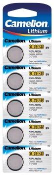 Lithium Knopfzelle CAMELION CR2025