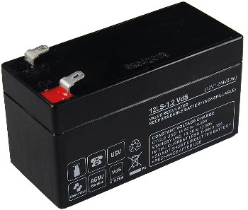 Bleiakku Q-Batteries 12V/1,2Ah