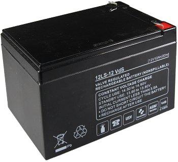 Bleiakku Q-Batteries 12V/12Ah