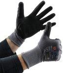 Profi Arbeits-Handschuhe mit Kautschuk-