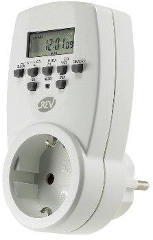 digitale Wochen-Zeitschaltuhr 230V/1800W