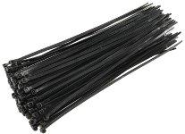 Kabelbinder 300mm x 4,8mm, schwarz