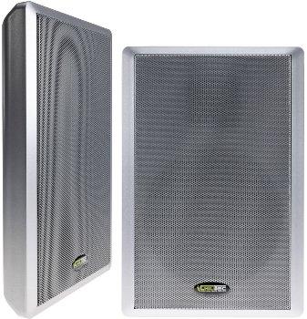 Flatpanel-Lautsprecher, 40W, silber