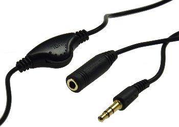 Kopfhörer-Verlängerungskabel 1m