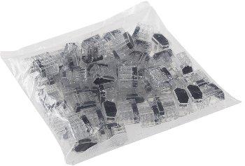Steckbare Dosenklemmen, 50er Pack