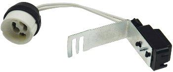 GU10 Lampenfassung mit Zugentlastung