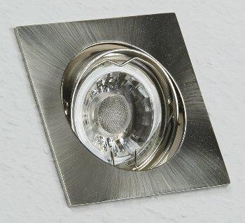 """Decken-Einbaustrahler """"SE80"""" chrom-matt"""
