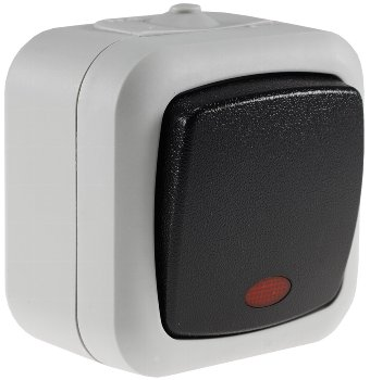 Feuchtraum Kontroll-Schalter, IP44