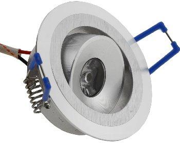 """LED-Einbauleuchte """"RD-1"""", 1W, 80lm"""