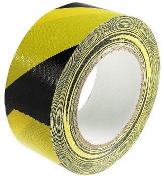 Profi Gewebe-Klebeband schwarz / gelb