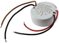 LED-Trafo KS-12R 12W, 3-45V= rund
