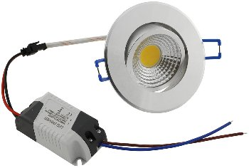 """LED-Einbauleuchte """"COB-3"""", 3W, 250lm"""