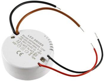 """LED-Trafo """"CT-12E-V2R"""", 0,5-12W rund"""