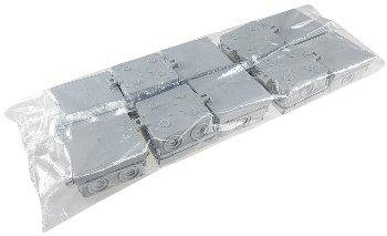Feuchtraum-Kabelabzweigkasten, 10er Pack