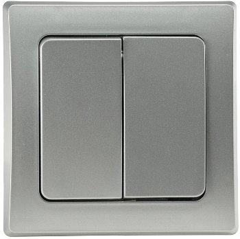 DELPHI Serien-Schalter 2-fach