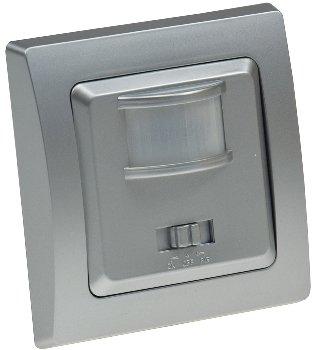 DELPHI Bewegungsmelder 160°, Silber