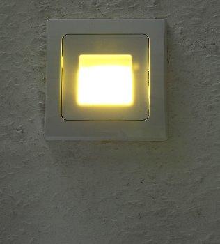 """LED-Einbauleuchte DELPHI """"COB"""" weiß"""