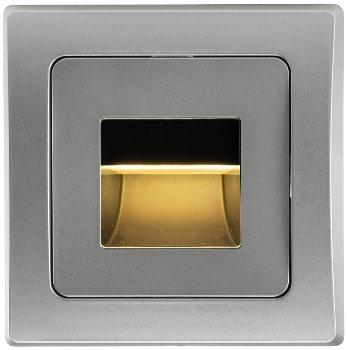"LED-Einbauleuchte DELPHI ""COB"" silber"