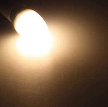 "LED Kerzenlampe E14 ""K50"" warmweiß"
