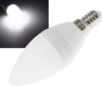 """LED Kerzenlampe E14 """"K50"""" weiß"""