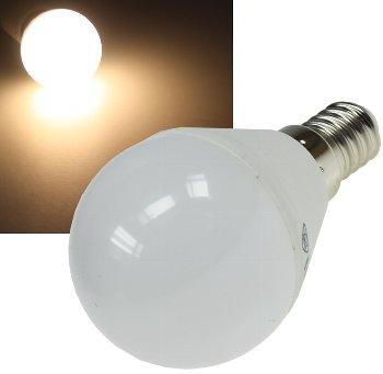 "LED Tropfenlampe E14 ""T50"" warmweiß"