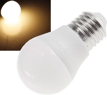 "LED Tropfenlampe E27 ""T50"" warmweiß"