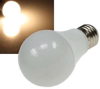 """LED Glühlampe E27 """"G70 AGL"""" warmweiß"""