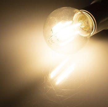 """LED Tropfenlampe E14 """"Filament T4"""""""