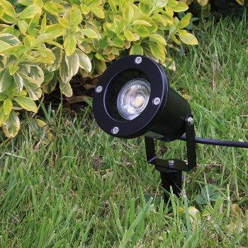 """Gartenleuchte """"CT-GS10"""", schwarz"""