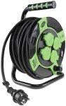 Kunststoff-Kabeltrommel, 25m Kabel, IP44