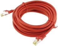 CAT 7 Netzwerk-Rohkabel, 5m, rot