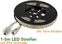 "LED-Stripe ""CLS-200 SQ"" 2m, warmweiß"