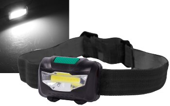 "LED-Stirnlampe ""HeadLight COB"" 3W"