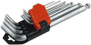 Innensechskant-Schlüssel, 9-teiliges Set