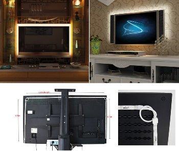RGB Stripe TV-Hintergrundbeleuchtungsset