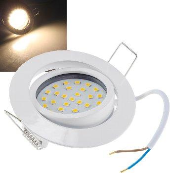 """LED-Einbauleuchte """"Flat-32"""" warmweiß"""