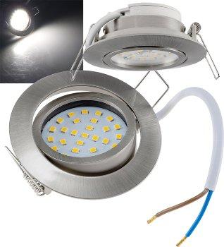 """LED-Einbauleuchte """"Flat-32dim"""" weiß"""