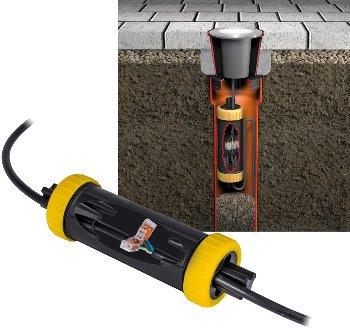 Dosenmuffe IP68 für bis zu 4 Kabel