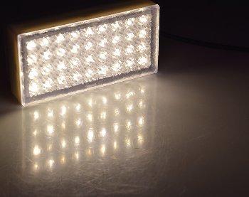 """LED Pflasterstein """"BRIKX 20"""" warmweiß"""