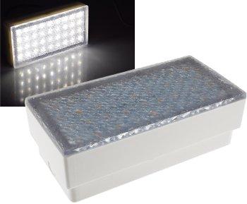 """LED Pflasterstein """"BRIKX 20"""" neutralweiß"""