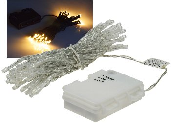 "LED Batterie-Lichterkette ""CT-TK50"" 5m"