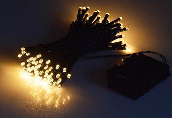 """LED Batterie-Lichterkette """"CT-TK100"""" 10m"""