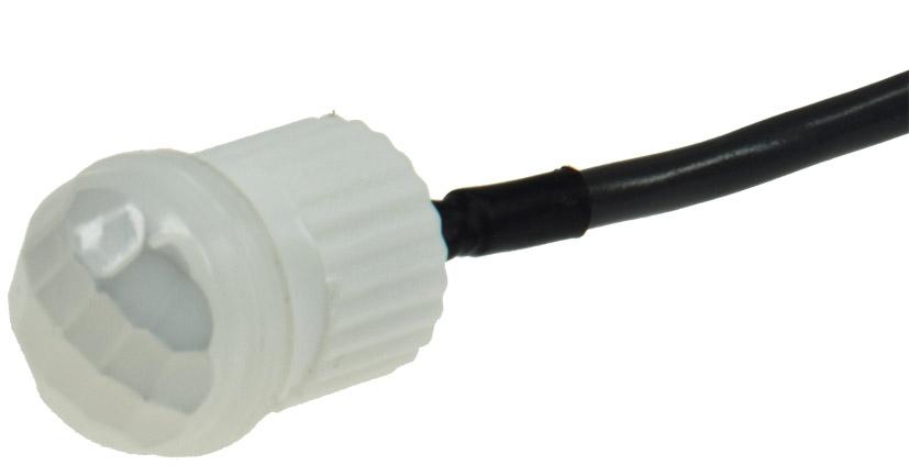 6m IP20 360° Bewegungsmelder für Decken Einbau 12V 1-60W LED geeignet weiß max