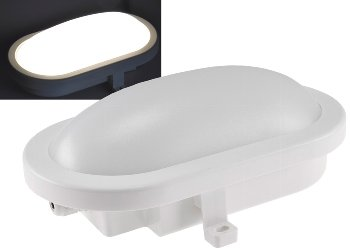 "LED Oval-Armatur ""FRL-O 12"" IP44"