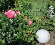 """Garten Kugelleuchte Erdspieß """"Granit-28"""""""