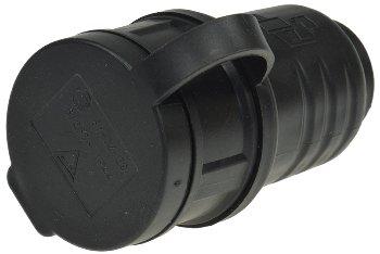 Schutzkontakt-Gummikupplung für Außen