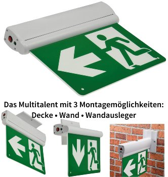 """LED Fluchtwegleuchte """"NL-8 Multi"""""""