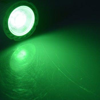 """LED Strahler GU10 """"LDS-50"""" grün"""